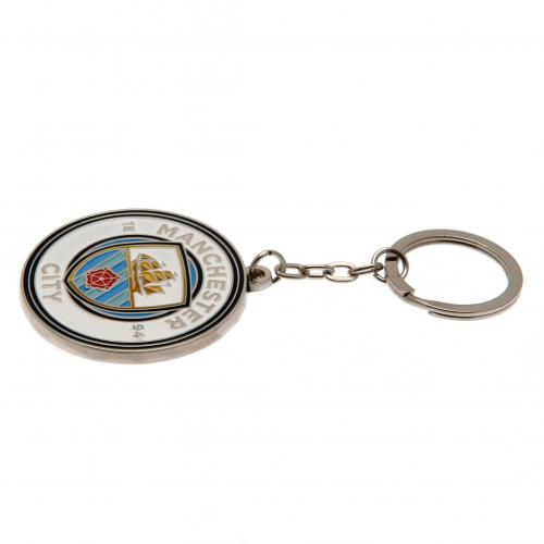 Manchester City FC - New Crest Key Chain