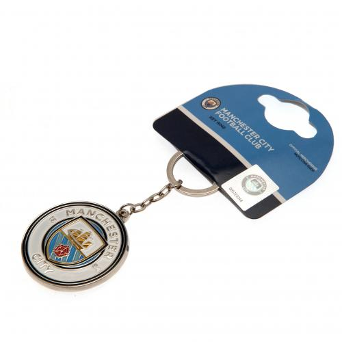 Manchester City FC  Crest Key Chain