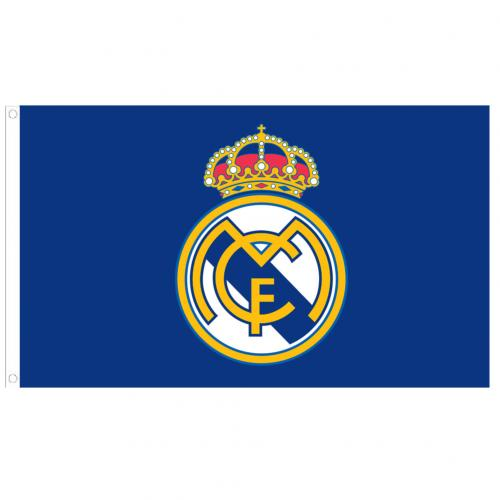 Real Madrid Flag - Crest