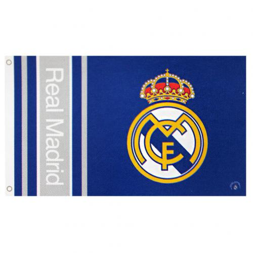 Real Madrid Flag - Logo