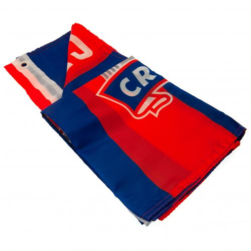 Crystal Palace FC Crest Flag