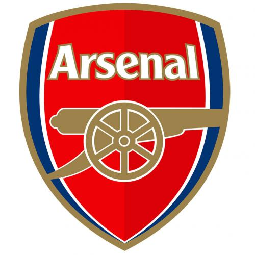Arsenal FC  - Large Crest Sticker