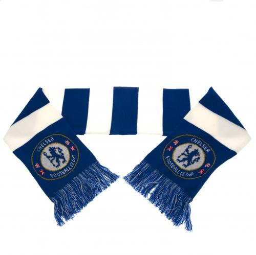 Chelsea FC - Blue and White Bar Scarf