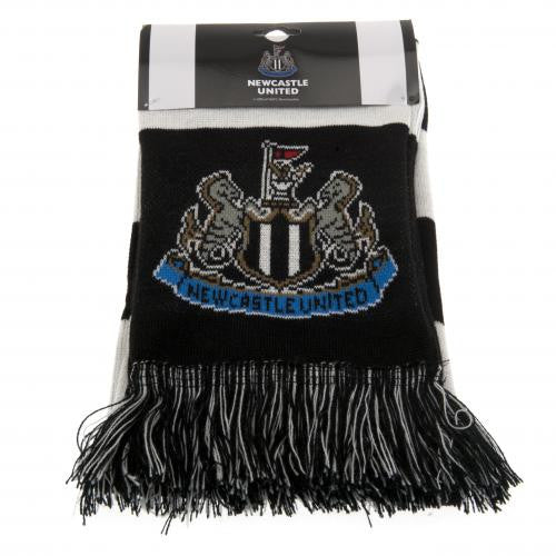 Newcastle United FC - Black and White Bar Scarf