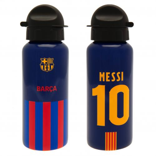 FC Barcelona Messi Aluminium Drinks Bottle - 400ml