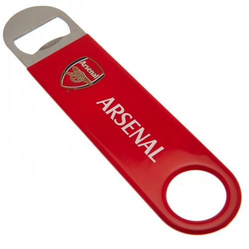 Arsenal FC Stainless Steel Bar Blade Bottle Opener Magnet