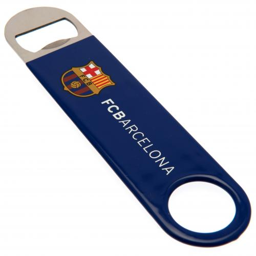 FC Barcelona Stainless Steel Bar Blade Bottle Opener Magnet
