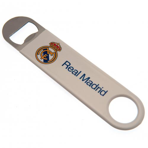 Real Madrid Stainless Steel Bar Blade Bottle Opener Magnet