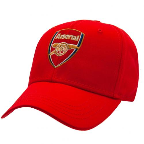 Arsenal FC Red Core Crest Cap
