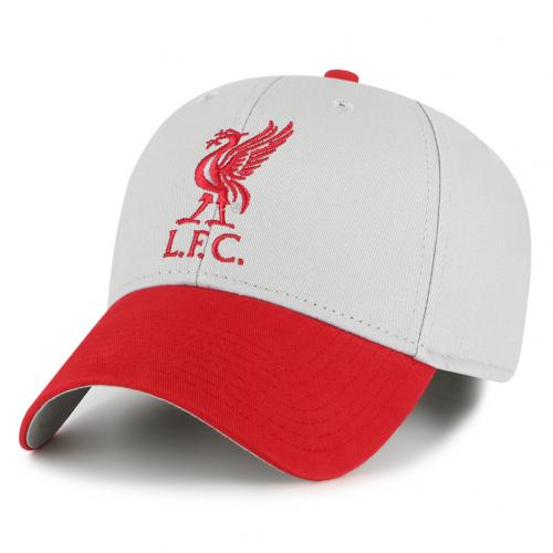Liverpool FC  Red/Grey Crest Cap