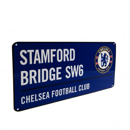 Chelsea FC Blue Stamford Bridge Street Sign