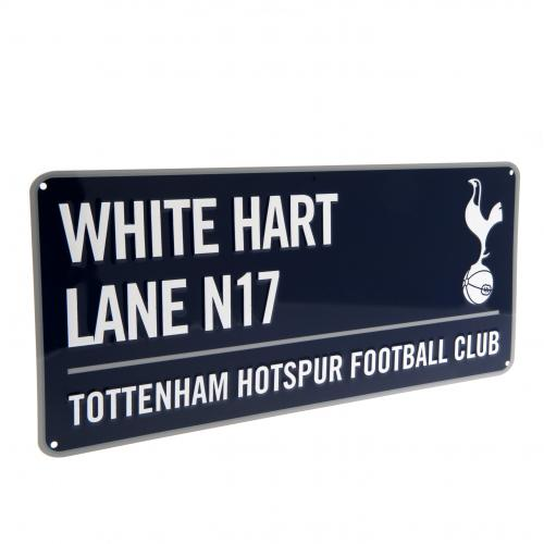 Tottenham Hotspur FC Navy Street Sign - White Hart Lane