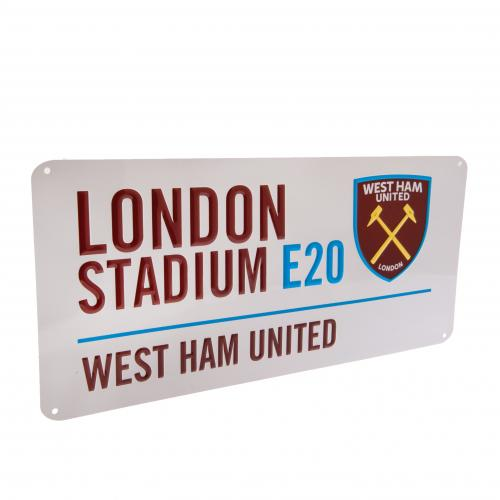 West Ham United FC  - London Stadium Street Sign