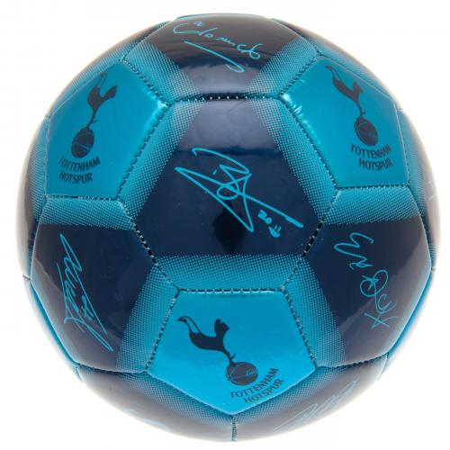 Tottenham Hotspur FC  Size 5 Ball With Team Signatures