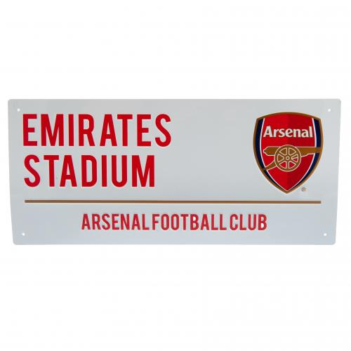 Arsenal FC Emirates Stadium Street Sign