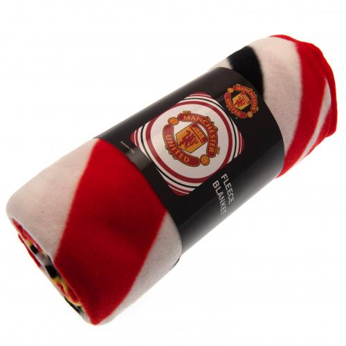 Manchester United FC Fleece Blanket