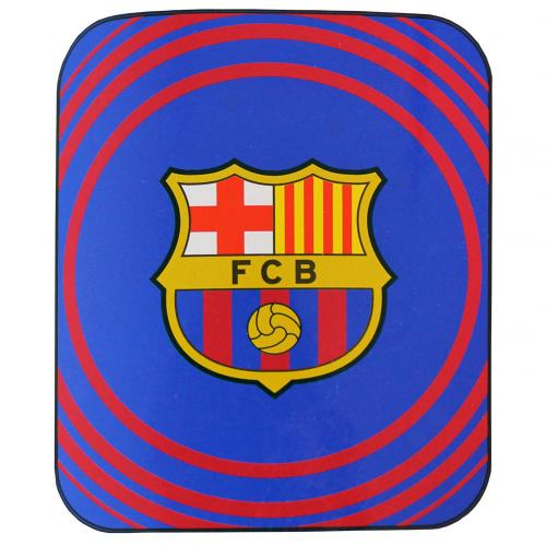 FC Barcelona Club Crest Fleece Blanket