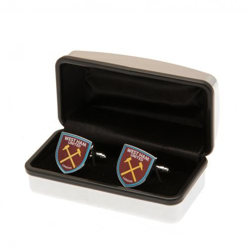 West Ham United FC - Club Crest Cufflinks
