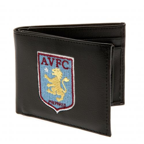 Aston Villa FC - PU Leather Crest Wallet