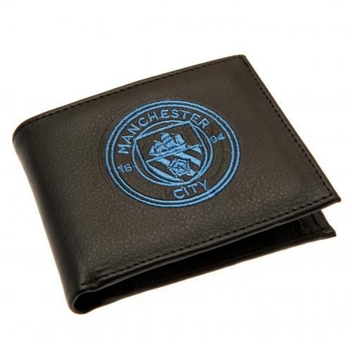 Manchester City FC - PU Leather Crest Wallet