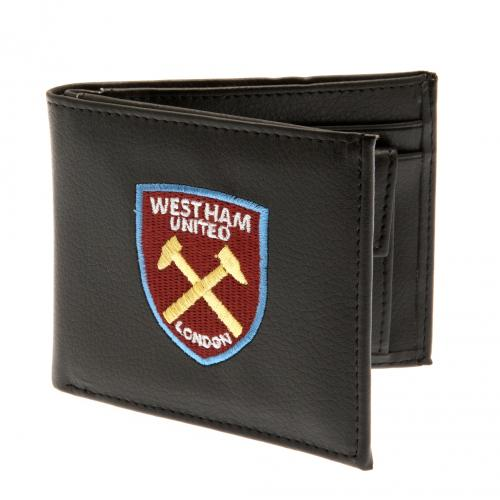 West Ham United FC - PU Leather Crest Wallet