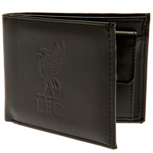 Liverpool FC - Debossed Crest Leather Wallet