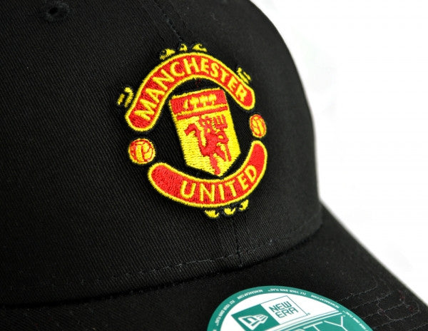 Manchester United FC  - New Era 9Forty Black Crest Cap