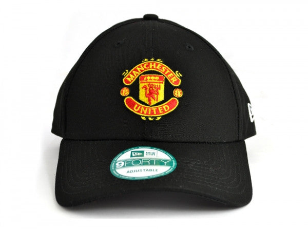 c20f81218a0 Manchester United FC - New Era 9Forty White   Black Crest Cap ...
