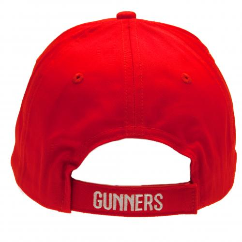 Arsenal FC  -  Red Crest Cap