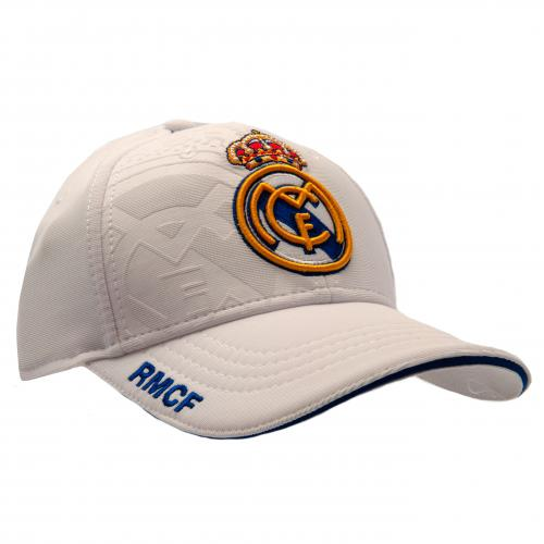 Real Madrid White Cap