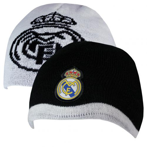 Real Madrid Reversible Knit Hat