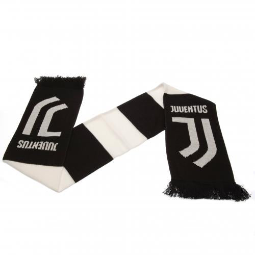 FC Juventus Black and White Bar Scarf