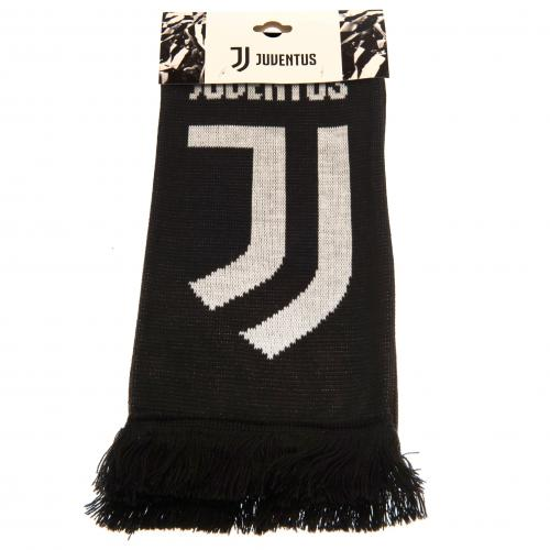 FC Juventus Black and White Bar Scarf - SALE
