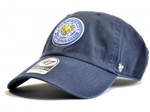 Leicester City FC 47 Clean Up Navy Cap
