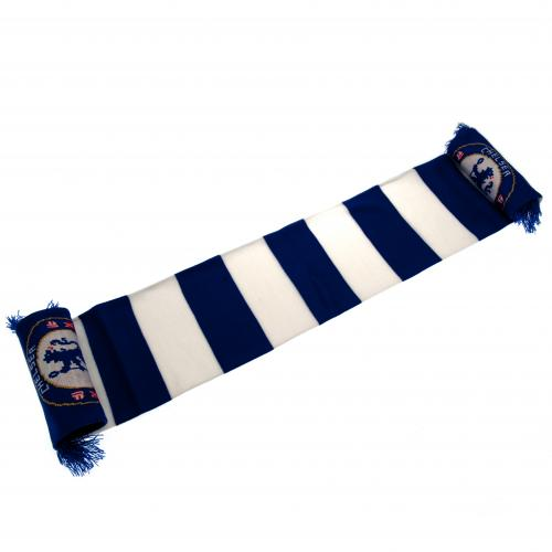 Chelsea FC Striped Bar Scarf