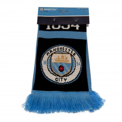 Manchester City FC - 1894 Crest Scarf