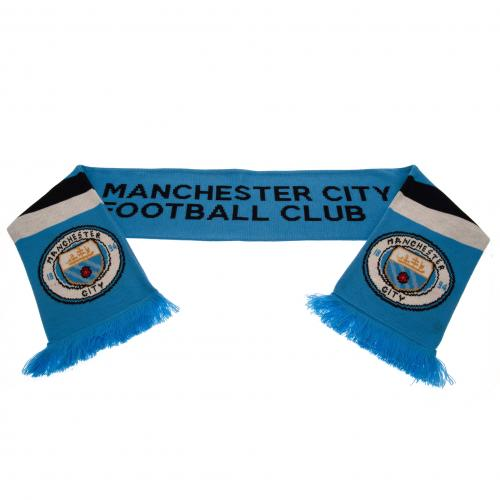Manchester City FC Stripe Scarf