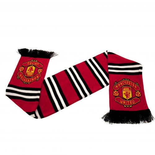 Manchester United FC - Red Stripe Scarf