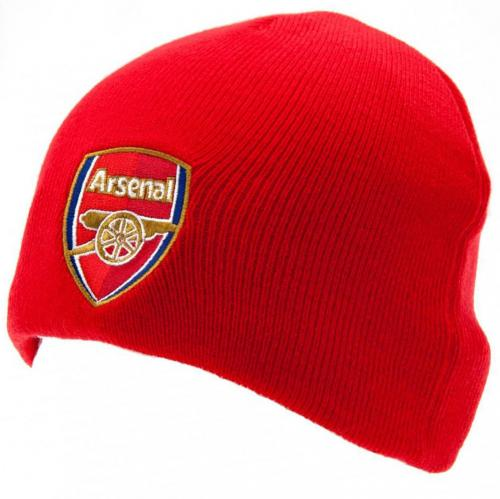Arsenal FC Red Knitted Hat