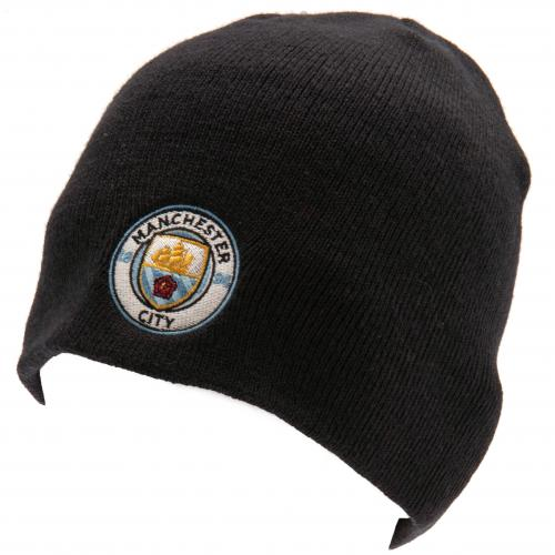 Manchester City FC  - Knitted Navy Hat