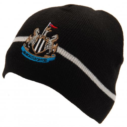 Newcastle United FC Crest Knit Hat