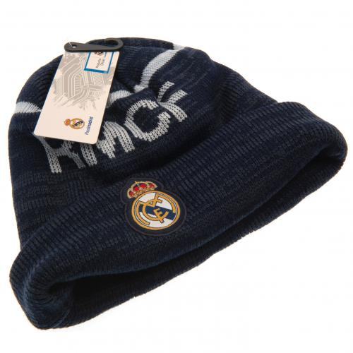 Real Madrid Navy Knit Hat