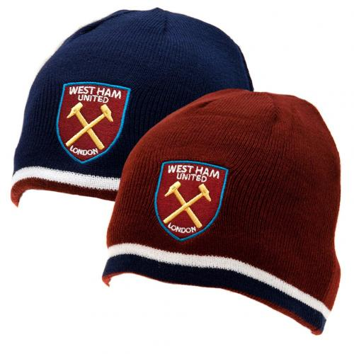 West Ham United FC - Reversible Knitted Hat