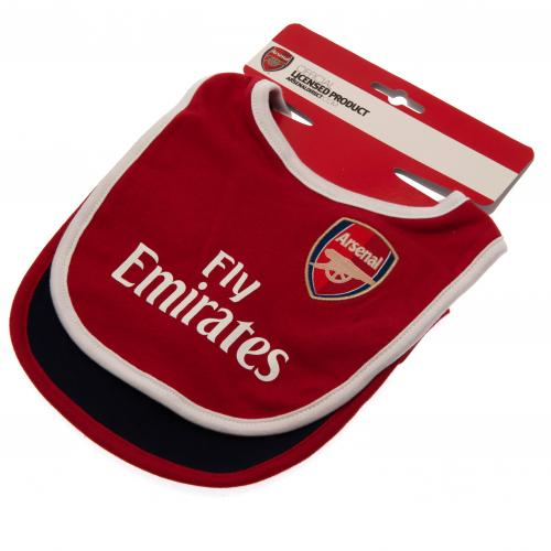 Arsenal FC - Baby Bibs 2 pack