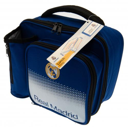 Real Madrid Insulated Lunch Bag and Bottle Holder