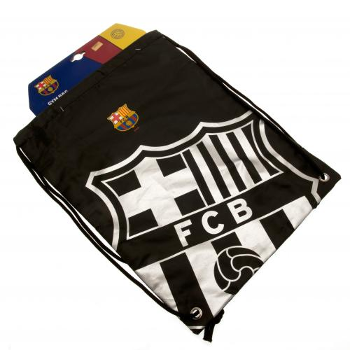 FC Barcelona  - Black Crest Gear Bag