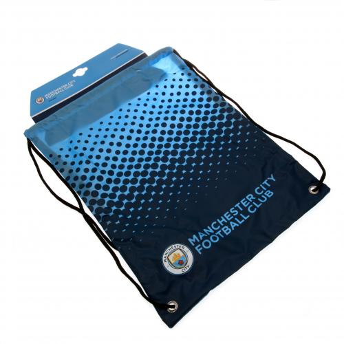 Manchester City FC Crest Gear/Gym Bag