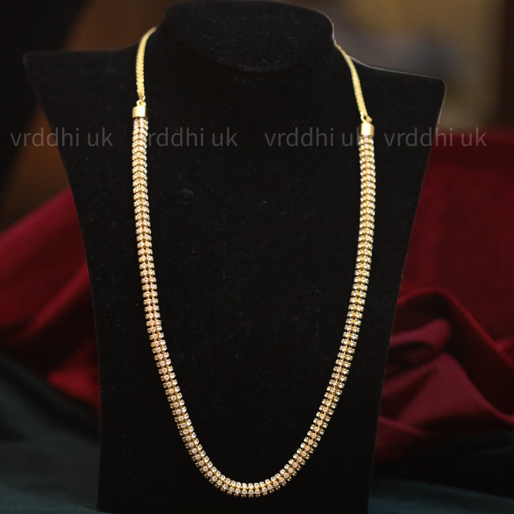 GOLD PLATED  SHORT NECKLACE 9