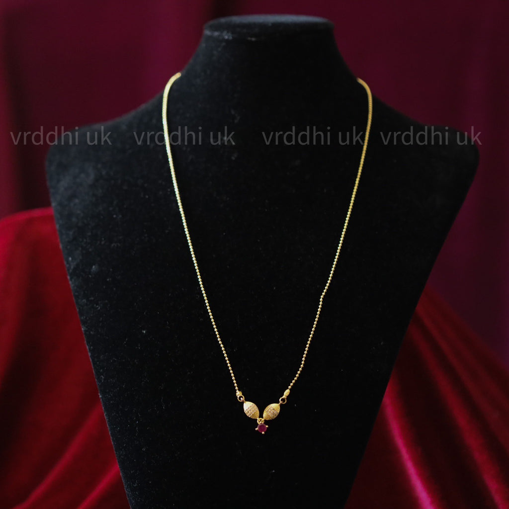 GOLD PLATED  LONG CHAIN 4