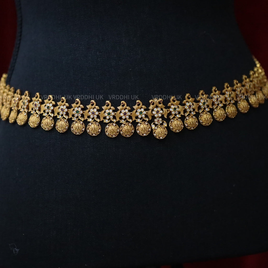 ANTIQUE TEMPLE WAISTCHAIN / HIP CHAIN / LONG NECKLACE 24